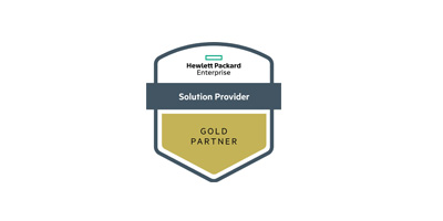 HPE Partner Ready Gold Partner